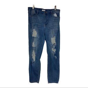 CELLO, Distressed Women's Junior jeans size 17